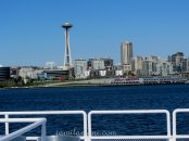 space needle from view deck