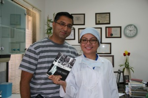 Gagan Suri, the author and Me