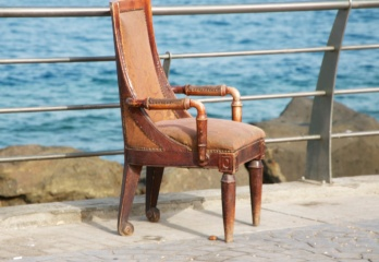 an old chair