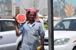 watermelon on the street