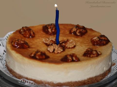 happy Dulce de leche Cheesecake