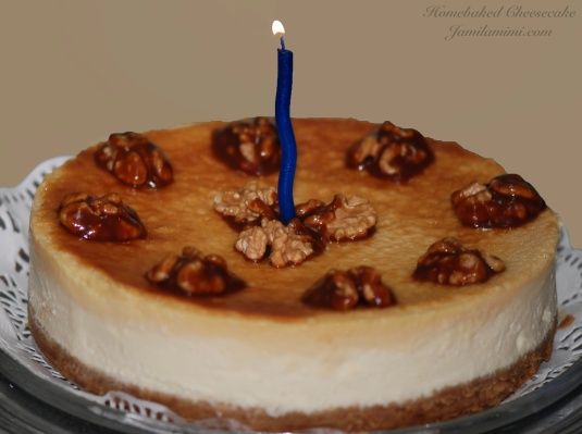 happy Dulce de leche Cheesecake