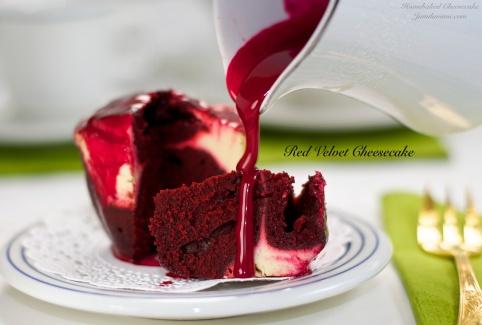 Flavour # 4 Red Velvet Cheesecake