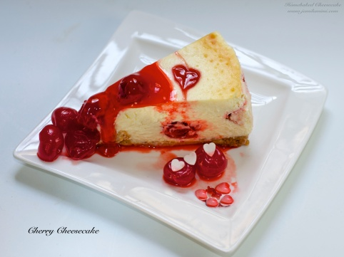 Flavour no. 10 Cherry Cheesecake