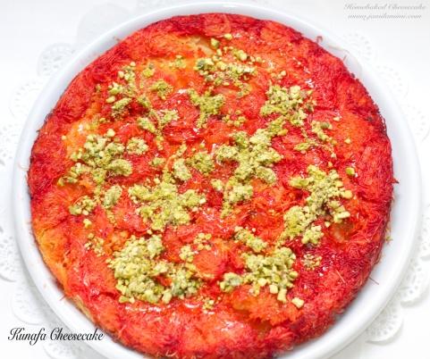 Kunafah Cheesecake