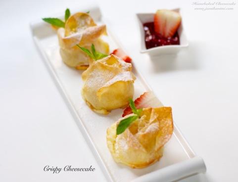 Crispy Cheesecake