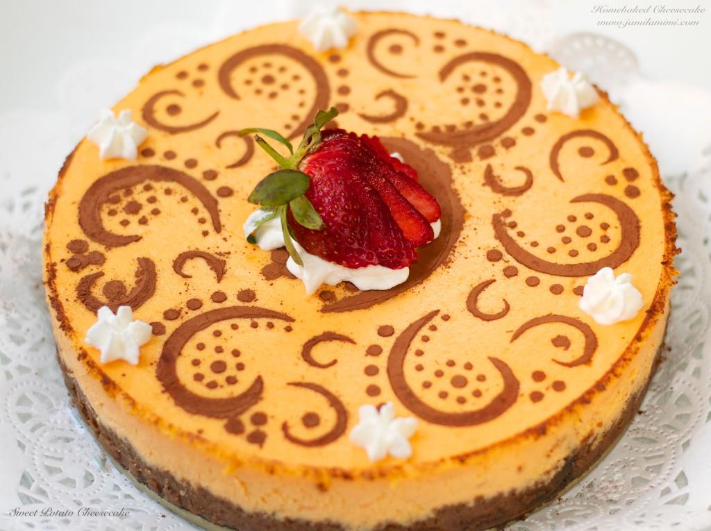 Flavour # 18 Sweet Potato Cheesecake