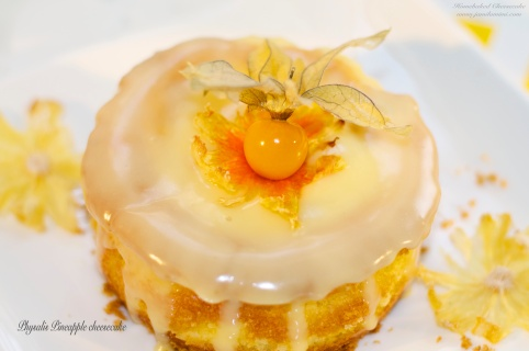 Physalis Pineapple Cheesecake