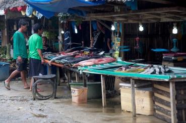 small Fish stalls
