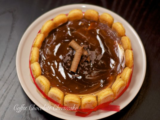 Flavour # 30 - Coffee Chocolate Cheesecake