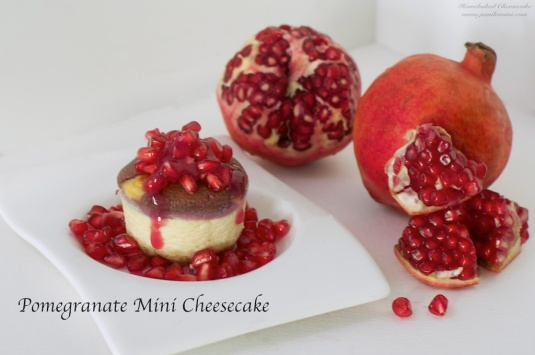 i use real pomegranate for topping