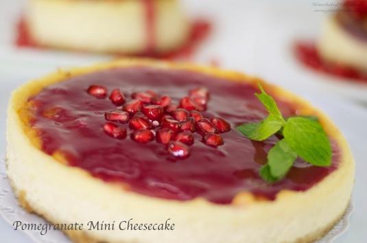 Flavour # 35 Pomegranate Mini Cheesecake