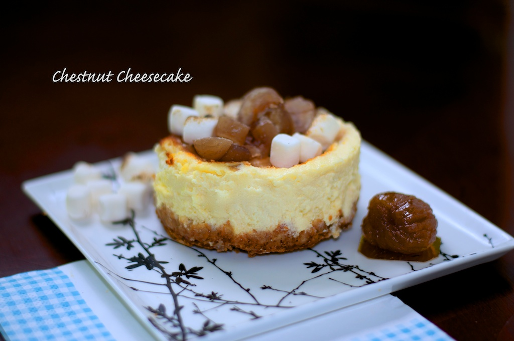 Flavour no. 39 Chestnut Cheesecake