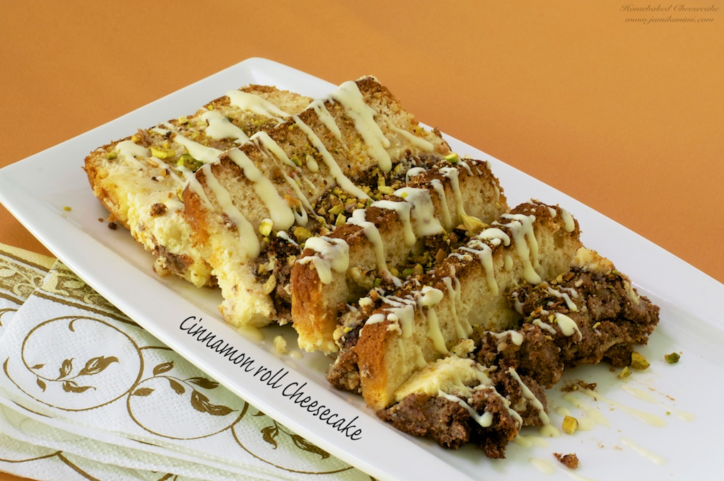 Flavour no. 39 Cinnamon roll Cheesecake