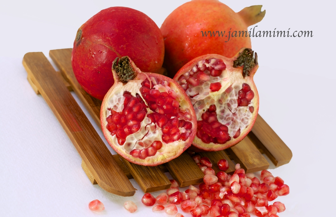 Pomegranate - one of my favourite fruits
