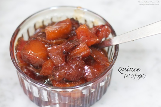 I love Quince compote