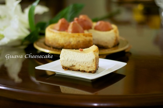 Flavour #48 Guave Cheesecake