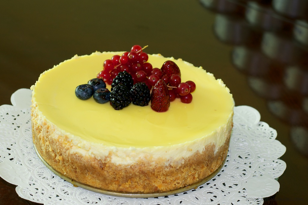 50th : Berries Cheesecake