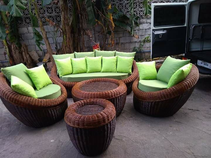 I Havenu0027t Completed My House Renovation Yet But Needed Some Furniture For  My Covered Lanai At The Back Of My House. I Searched Where To Order Rattan  But ...